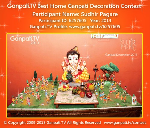Sudhir Pagare Ganpati Decoration