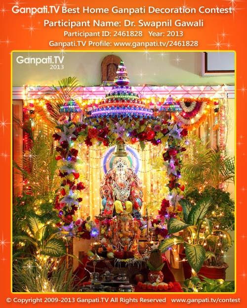 Swapnil Gawali Ganpati Decoration