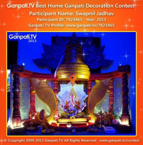 Swapnil Jadhav Ganpati Decoration