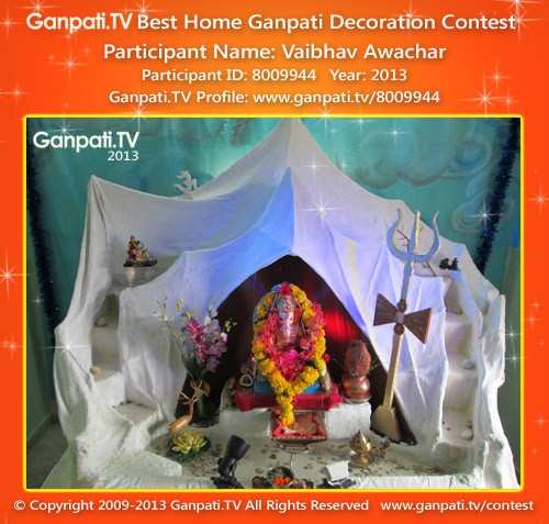 Vaibhav Awachar Ganpati Decoration