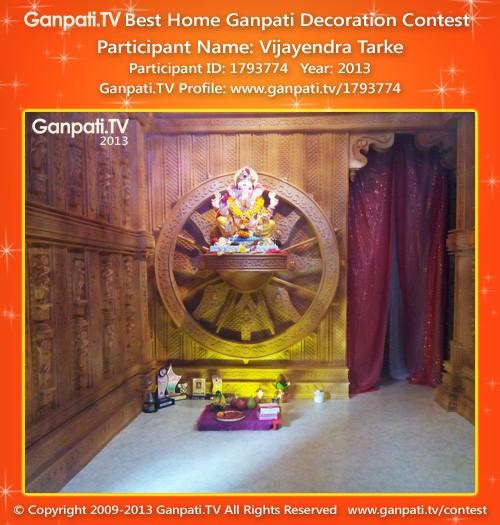Vijayendra Tarke Ganpati Tv