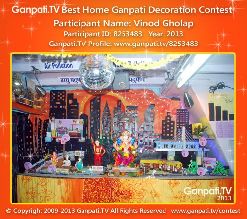 Vinod Gholap Ganpati Decoration