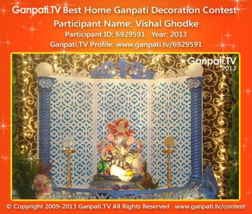 Vishal Ghodke Ganpati Decoration