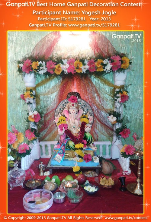 Yogesh Jogle Ganpati Decoration