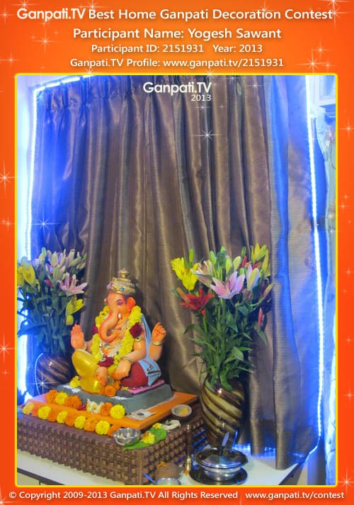 Yogesh Sawant Ganpati Decoration