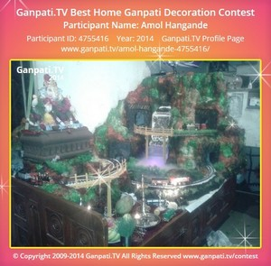Amol Hangande Ganpati Decoration