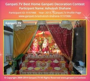Ashutosh Shahane Ganpati Decoration