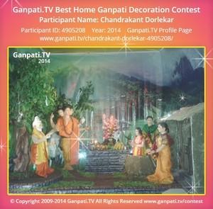 Chandrakant Dorlekar Ganpati Decoration