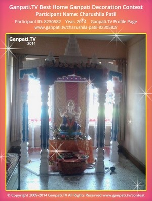 Charushila Patil Ganpati Decoration