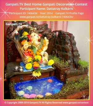 Dattatray Kulkarni Ganpati Decoration