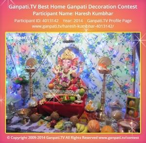 Haresh Kumbhar Ganpati Decoration