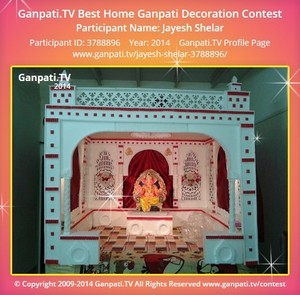 Jayesh Shelar Ganpati Decoration
