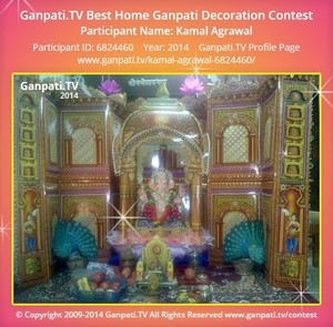 Kamal Agrawal Ganpati Decoration