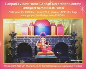 Nilesh Potdar Ganpati Decoration