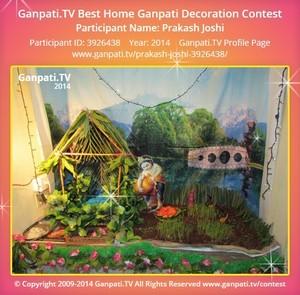 Prakash Joshi Ganpati Decoration
