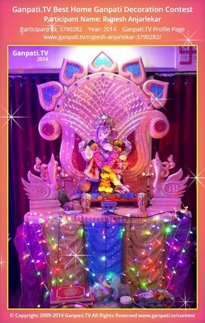Rupesh Anjarlekar Ganpati Decoration