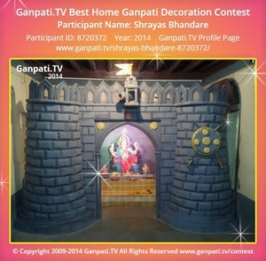 Shrayas Bhandare Ganpati Decoration