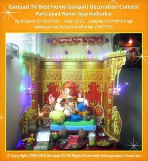 AJAY KUDTARKAR Ganpati Decoration