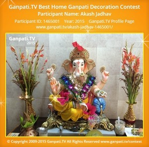 Akash Jadhav Ganpati Decoration