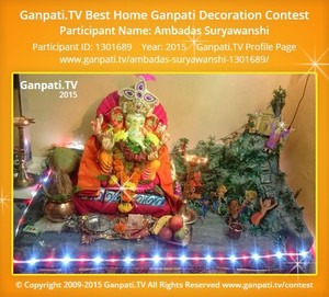 Ambadas Suryawanshi Ganpati Decoration