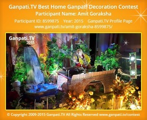 Amit Goraksha Ganpati Decoration