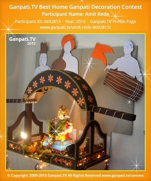 Amit Rede Ganpati Decoration