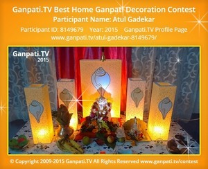 Atul Gadekar Ganpati Decoration
