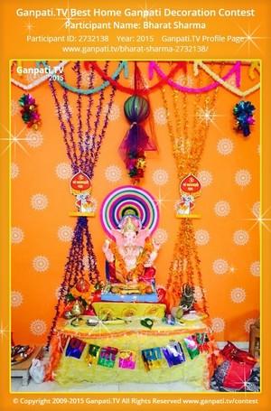 BHARAT SHARMA Ganpati Decoration