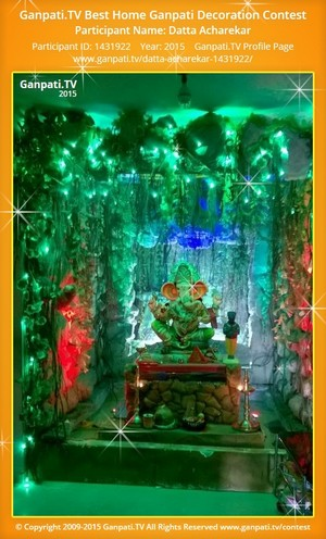 Datta Acharekar Ganpati Decoration