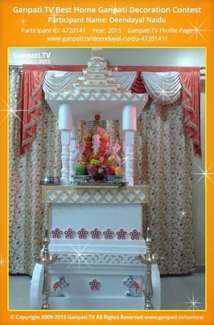 DEENDAYAL NAIDU Ganpati Decoration