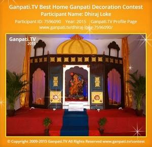 Dhiraj Loke Ganpati Decoration