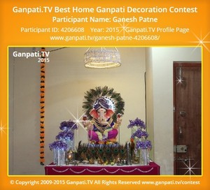 Ganesh Patne Ganpati Decoration