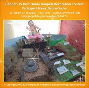 gaurav yadav Ganpati Decoration