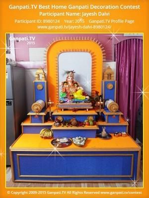 Jayesh Dalvi Ganpati Decoration