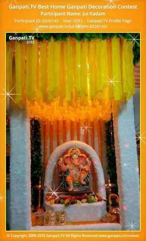 jui kadam Ganpati Decoration