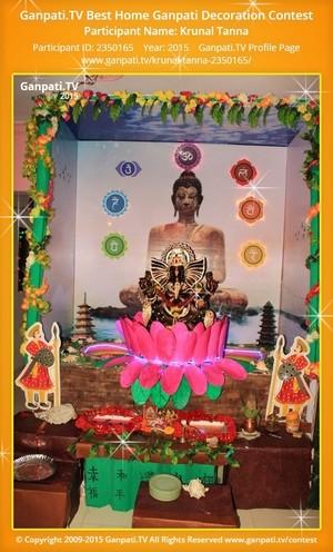 Krunal Tanna Ganpati Decoration