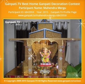 mahendra mergu Ganpati Decoration