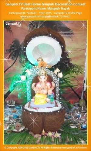 Mangesh Nayak Ganpati Decoration