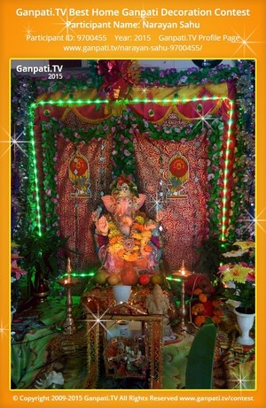 Narayan Sahu Ganpati Decoration