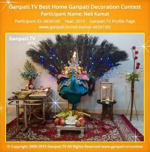 Neil Kamat Ganpati Decoration