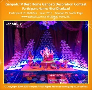 Niraj Dhadwad Ganpati Decoration
