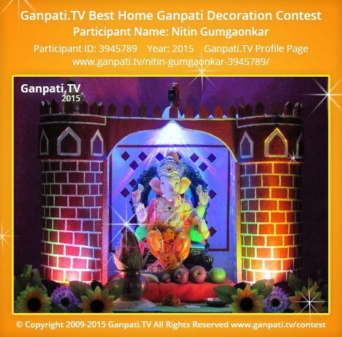 welcome to nitin gumgaonkar 39 s page on ganpati tv