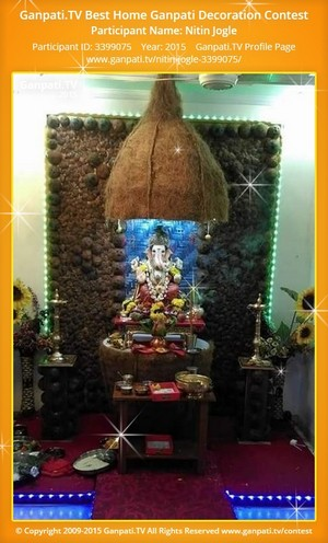 Nitin Jogle Ganpati Decoration