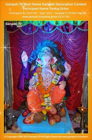 Pankaj GIrkar Ganpati Decoration