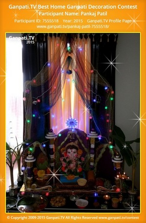 Pankaj Patil Ganpati Decoration