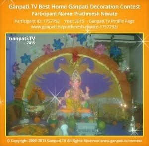 Prathmesh Niwate Ganpati Decoration