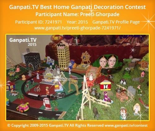 Preeti Ghorpade Ganpati Tv