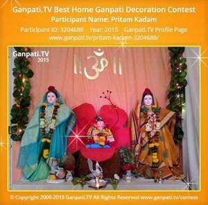 Pritam Kadam Ganpati Decoration