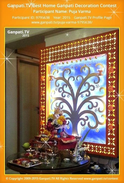 Puja Varma Ganpati Tv