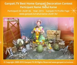 Rahul kanse Ganpati Decoration